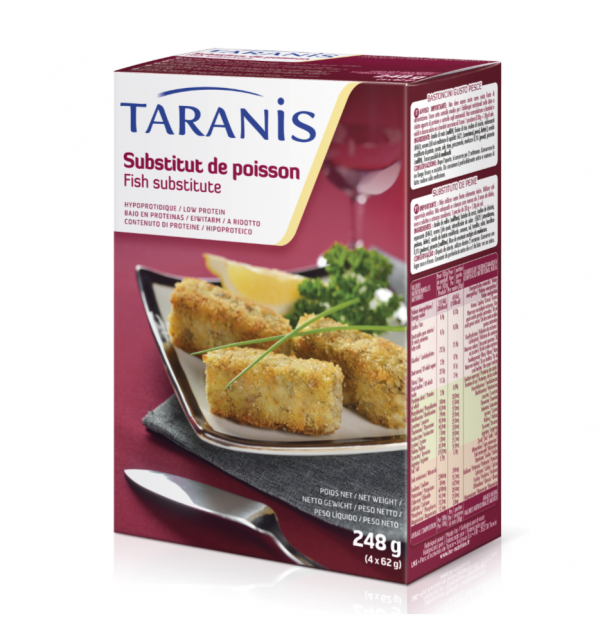 Taranis low protein fish substitute promin for Substitute for fish food